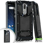 For Coolpad Legacy - Metal Jacket Backplate Hybrid Magnetic Armor Case Cover