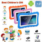 "7"" Tablet 8GB for Android Dual Camera 0.3MP BT WiFi Quad Core For Kids Learning"