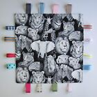 Tiny Taggy for Your Baby - Black and White Jungle Animals & Others