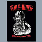 Wolf Rider METAL POSTER SIGN PLAQUE OR CANVAS OR POSTER WALL ART