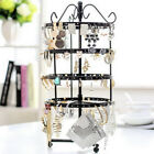 Rotating Four-layer Earring Display Stand Lady Jewelry Storage Rack Organizers