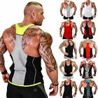1 Pc Men Tank Top Gyms Workout Fitness Bodybuilding Sleeveless Shirt Clothing Ca
