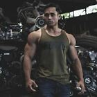 Men's Bodybuilding Gyms Fitness Workout Cotton Sleeveless Vest Cross fit Clothin