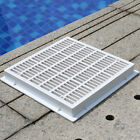 Square Main Drain Cover Bottom Drainer For Swimming Pools Replacement Accessory