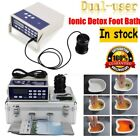 Dual User Body Detox Ionic Foot Bath Spa Cell Cleanse Machine Ion Array Home Use