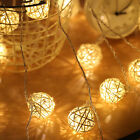 Led Cotton Ball String Light Fairy Lights for Bedroom Party Weeding  Decorations