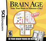 Brain Age: Train Your Brain in Minutes a Day (Nintendo DS,) Case & Manual Only