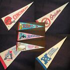 HUGE SELECTION-SPORTS & SOUVENIR & UNIVERSITY PENNANTS, Mini, Small, Large, Vtg $12.44 USD on eBay