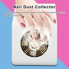 40W Nail Art Dust Suction Collector Cleanser Nail Art Tool Machine with Filter