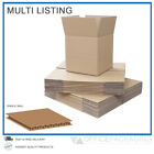 SMALL SINGLE WALL CARDBOARD BOXES MOVING POSTAL HIGH QUALITY - MULTI LISTING