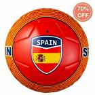 SZ 5 Training & Recreation Soccer Ball Free Carrying Net Bag, Spain or Argentina $9.99 USD on eBay