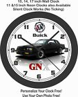 1987 BUICK REGAL GNX WALL CLOCK- GRAND NATIONAL, MONTE CARLO, CUTLASS