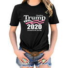 Trump President 2020 Women For Trump T-Shirt Coiuple Tee Shirt Tops US Stock image