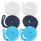 2 Premium Double Braid 6ft Boat Bumper Fender Lines Marine Docking Rope 3 Colors image