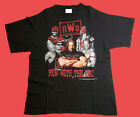 VTG NWO Run With The Pac 1998 Wrestling WWF T Shirt 90s WWE SIZE S-2XL REPRINT image