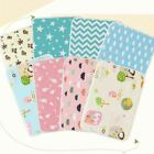 1 Pc Baby Nappy Pad Cotton Ecologic Diaper Changing Table Cartoon Baby Waterproo