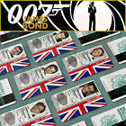 James Bond 007 ID Card, Sean Connery, Daniel Craig, Roger Moore, Timothy Dalton $11.3 USD on eBay