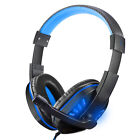 Stereo Bass Surround PC Gaming Headset for PS4 New Xbox One W/Mic and LED Light
