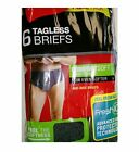 Men Briefs Hanes MID-RISE 6 Pair Colors