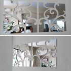 3D Wall Stickers Decorative Living Home Modern Acrylic Large Mirror Still Life