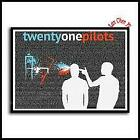 Twenty One Pilots poster Vintage Retro rock band music Guitar Matte Antique