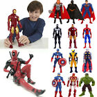 Marvel Avengers Figure Captain America Ironman Hulk Spiderman Kids Collection