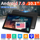 10.1'' WIFI Android 7.0 Tablet PC Octa 8 Core HD Bluetooth 2 SIM 4G 64GB+4G USPS