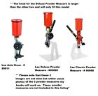 Knob UPGRADE for Lee Deluxe, Classic & Auto Drum Powder Measures 3D Printed x4
