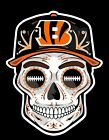 CINCINNATI BENGALS Sugar Skull Dia De Los Muertos vinyl Sticker UNIQUE on eBay