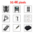 RC Drone x pro 5G Selfie WIFI FPV GPS With 4K HD Camera Foldable RC Quadcopter R