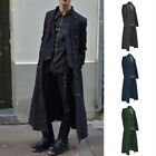 Mens Medieval Jacket Pirate Costume Tailcoat  Adult Steampunk Halloween Coats