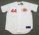 ARISTIDES AQUINO Cincinnati Reds 1967 Majestic Throwback Home Baseball Jersey on Ebay