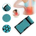 Acupuncture Massage Cushion Pillow Yoga Mat Body Muscle Tension Spike Pad Kit