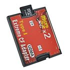 Micro SD* -SDHC TF to CF Type I Compact Flash Card Reader Adapter USA