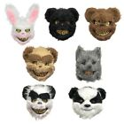 Hot Halloween Horror Plush Mask Unique Plush Mask cosplay Festive Party Supplies for sale  Canada
