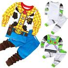 Kids Boys Baby Toys Story Buzz Lightyear and Woody Sets Sleepwear Pajamas Outfit