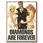 Diamonds Are Forever 24x16/24x36inch 007 James Bond Movie Silk Poster Hot $13.21 CAD on eBay