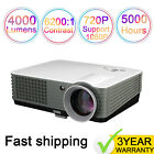 4000 Lumens HD Home Theater 1080p Video Movie TV Projector HDMI Android WIFi
