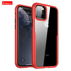 iPaky Ultra Slim Bumper Transparent TPU Back Case Cover For iPhone 11 Pro Max