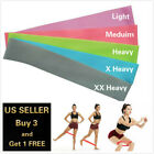2 FT RESISTANCE BANDS LOOP Exercise Yoga Training Elastic Fitness Gym Workout image