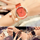 Fine Girl Women Classic Casual Quartz Watch Leather Strap Wrist Watches Gift New image