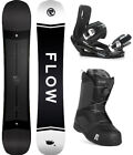 2020 FLOW GAP 152cm Snowboard+Bindings+Nidecker BOA Boots NEW SHAPE!