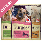 Burgess Sensitive Adult Salmon, Lamb, Turkey 12.5kg Dog Food