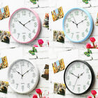 12'' Luminous Wall Clock Large Number Battery Operated Mute Quartz Noctilucent
