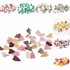Mix Butterfly Flower Leaf Shape Rhinestone Studs And Spikes For Clothes Round Sq