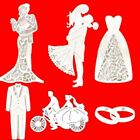 1 Pc Wedding Couple Bride And Groom Metal Cutting Dies Stencils For Scrapbooking