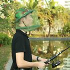 Breathable Sunshade Camouflage Anti Mosquito Net Cap Large Brim Fishing Outdoor