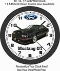1982-1983 FORD MUSTANG GT WALL CLOCK-NEW!