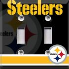 Football Pittsburgh Steelers Light Switch Plate Cover ~ Choose Your Cover ~ $8.99 USD on eBay