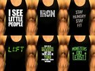 Mens Stringer Y Back Bodybuilding Gym Tank Tops